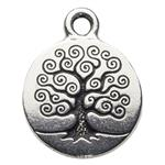 P2303S: Pewter Tree of Life Charm