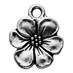 P2372S: Pewter Apple Blossom Charm