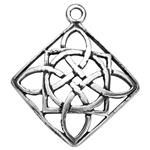 SH333: Celtic Diamond Shaped Pendant
