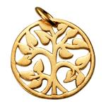 SNG161: Sterling Silver Tree of Life Charm