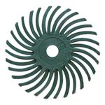 X590: 50 Grit Green Radial Bristle