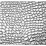SWS2258: Sterling Silver 22 gauge Bubble Pattern Sheet