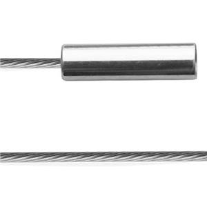 1CBST16: 19-Strand Woven Steel Cable with Magnetic Clasp