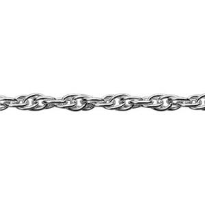 213R: Sterling Silver Bulk Double Rope Chain