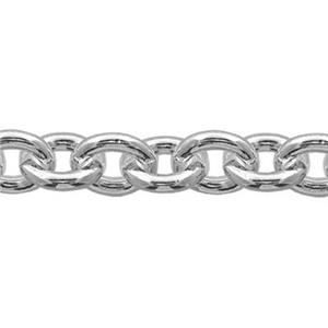 21712: Sterling Silver Heavy Cable Jewelry Making Chain