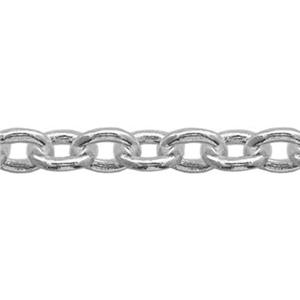 21780: Sterling Silver Heavy Cable Jewelry Making Chain