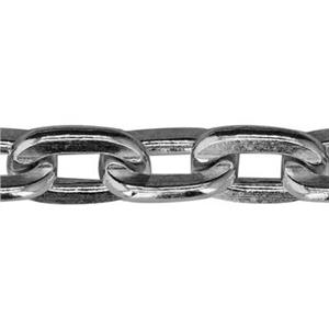 2260F: Sterling Silver Large Heavy Flat Cable Chain