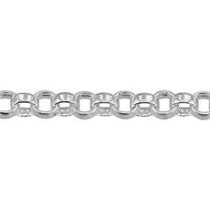 24018: Sterling Silver Rollo Chain