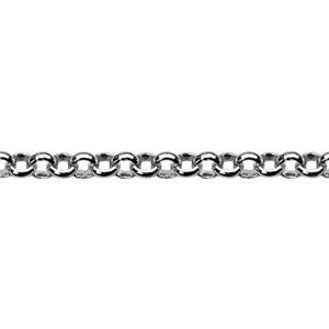 2450: Sterling Silver 1.5mm Tiny Rollo Chain