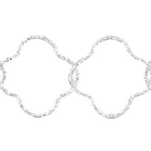 2A93: 16.6mm Diamond Cut Flower Chain