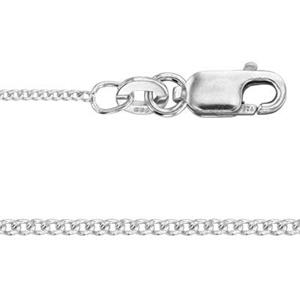2CD30L20: Sterling Silver Curb Chain with Lobster Claw