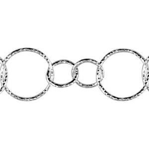 2D20: Sterling Silver Circle Chain