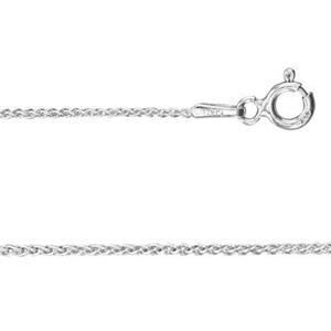 2DP2518: Sterling Silver Spiga Chain