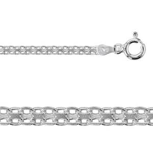 2K647: 7in, 2.4mm Bismark Bracelet with Spring Ring