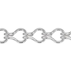 2LD30: Sterling Silver Ladder Chain
