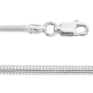 2SN2030: 30in, 1.9mm Snake Chain with Lobster Claw