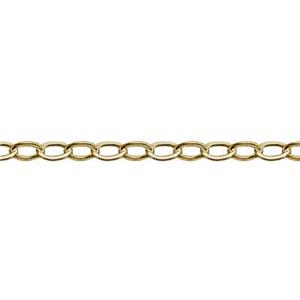 31018F: Gold-filled Flat Cable Chain