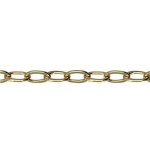 3116DF: Gold-Filled Drawn Flat Cable Chain