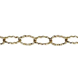 31310M: Gold-Filled Textured Cable Chain