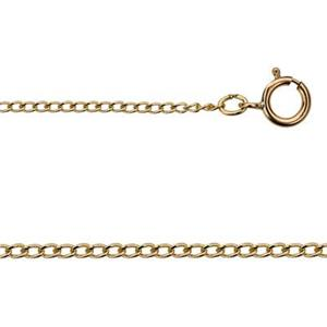 31322LC18: Gold-Filled Curb Chain Necklace