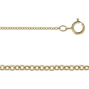 3133018: Gold-Filled Tight Heavy Cable Chain Necklace