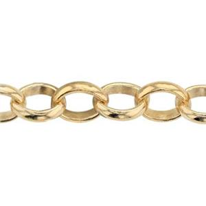 3512: 14/20 Gold-filled Open Rollo Chain