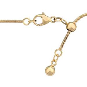 317422: 14/20 Gold Filled Adjustable Snake Chain with Lobster Clasp