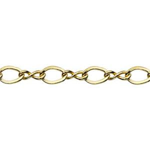 319C8: Gold-Filled Figure-8 Chain
