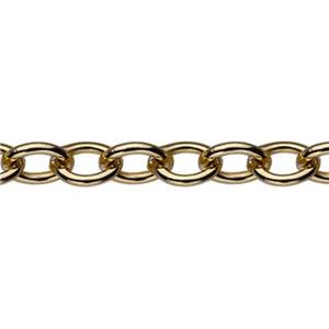 32510: Gold-Filled 3mm Heavy Cable Chain