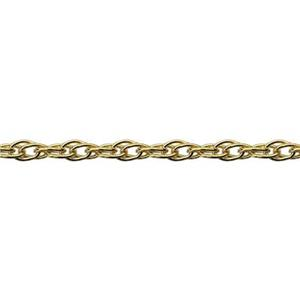 39R: Gold-Filled Double French Rope Chain