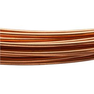 CBW18-P: 18ga Copper Round Dead Soft Wire
