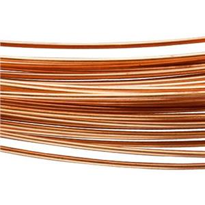 CBW20: Copper 20 Gauge Round Dead Soft Bulk Wire