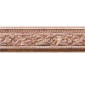 CBWG2: Copper Floral Pattern Wire