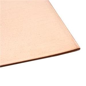 CBWS18-E: 6x12in 18ga Copper Sheet (No Cuts)