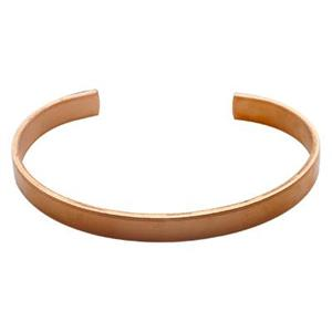 CU154: Copper Formed 14 Gauge Cuff Bracelet