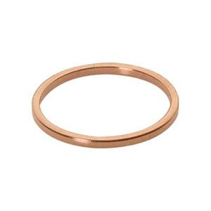 CU408: Copper Finger Ring Band