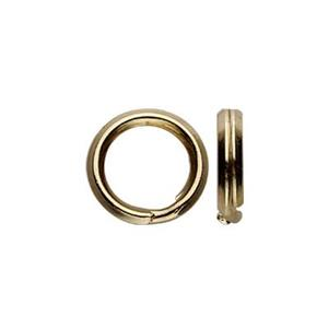 G3102: Gold-Filled 6mm Split Ring