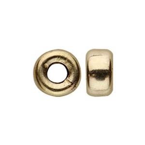 G5855: Gold-Filled Rondell Spacer Bead
