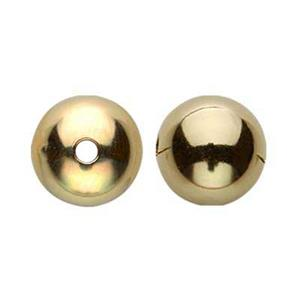 G6: Gold-Filled 6mm Round Bead