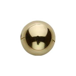 G8: Gold-Filled 8mm Seamless Round Bead