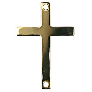 GF1046: Gold-Filled Flat Cross Link