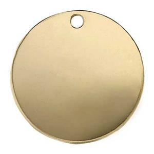 GF115: Gold-Filled 16mm Circle Blank