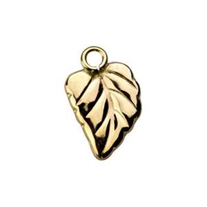 GF1152: Gold-Filled Leaf Charm