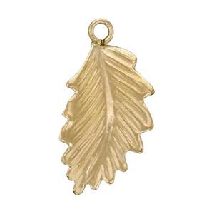 GF1332R: 14/20 Gold-filled Right Side Leaf Drop Charm