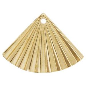 GF228: 14/20 Gold-filled Folded Fan Earring Jacket