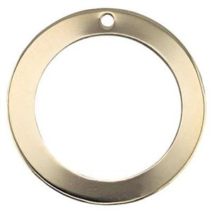 GF2303: Gold-Filled Circle Charm