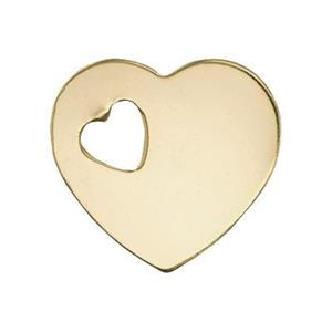 GF2478: 14/20 GF Heart Blank with Heart Cutout