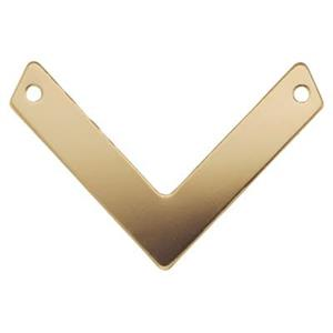 GF2620: 14/20 Gold Filled Chevron V-Link