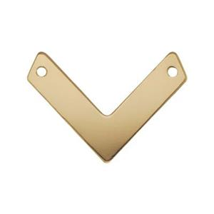 GF2621: 14/20 Gold Filled Chevron V-Link