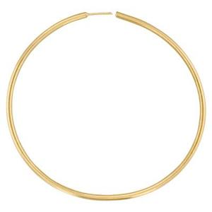 GF340: Gold-Filled 20mm Wire Hoop Earring